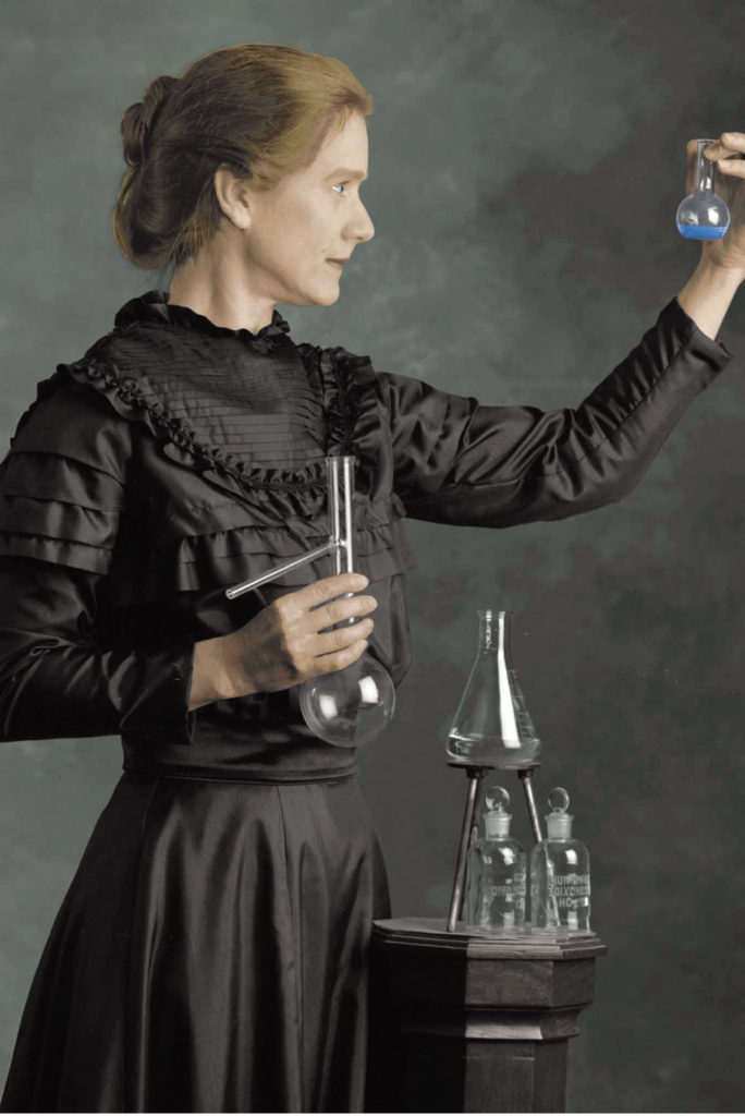 Maria Curie-Eres una mujer Alice-Alice in Beautyland