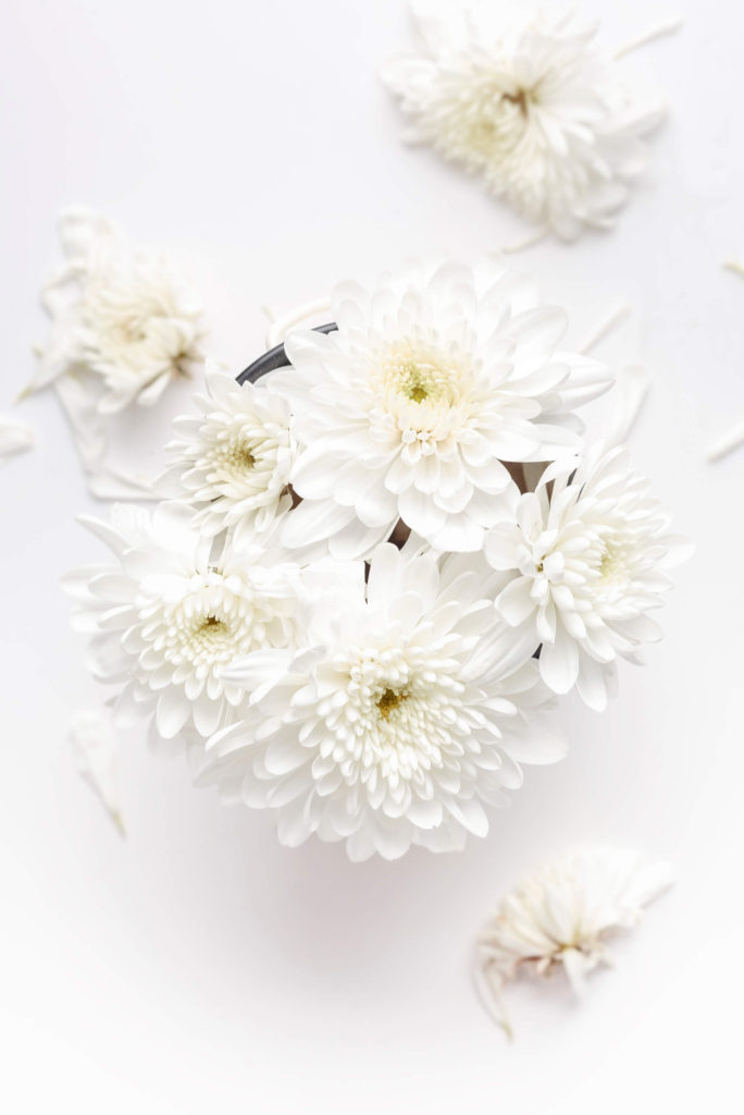 Cargar las pilas con masaje - Alice in Beautyland - White flowers