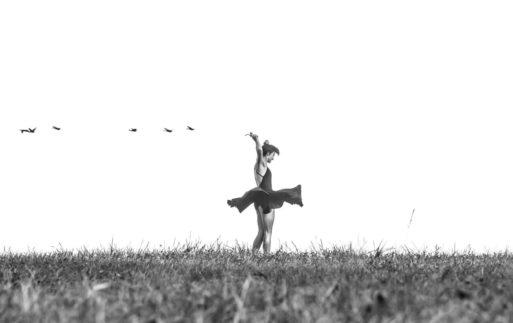 La belleza del baile y el movimiento
