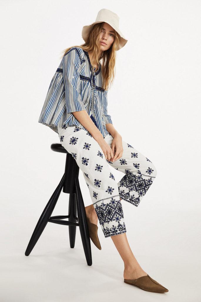 Las tendencias de moda para esta primavera-ALICE IN BEAUTYLAND-MEZCLA-Mango Camisa a rayas