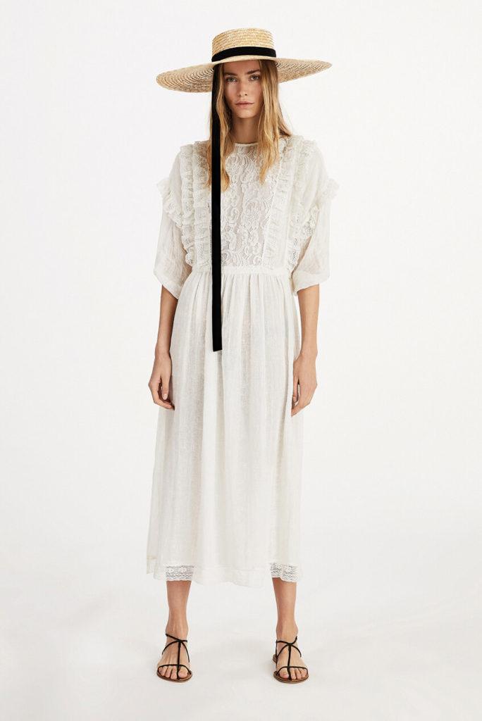 Las tendencias de moda para esta primavera-ALICE IN BEAUTYLAND-Sombreros-Mango-Sombrero de paja con modelo
