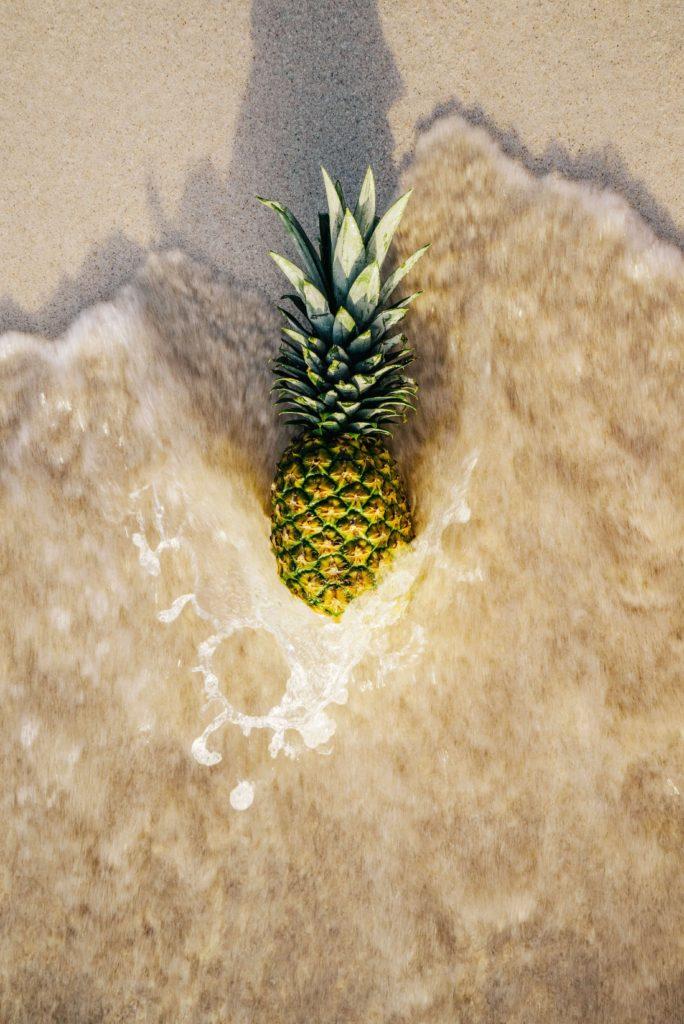Hidratacion el punto fuerte del verano Alice in Beautyland Blog Pineapple beach
