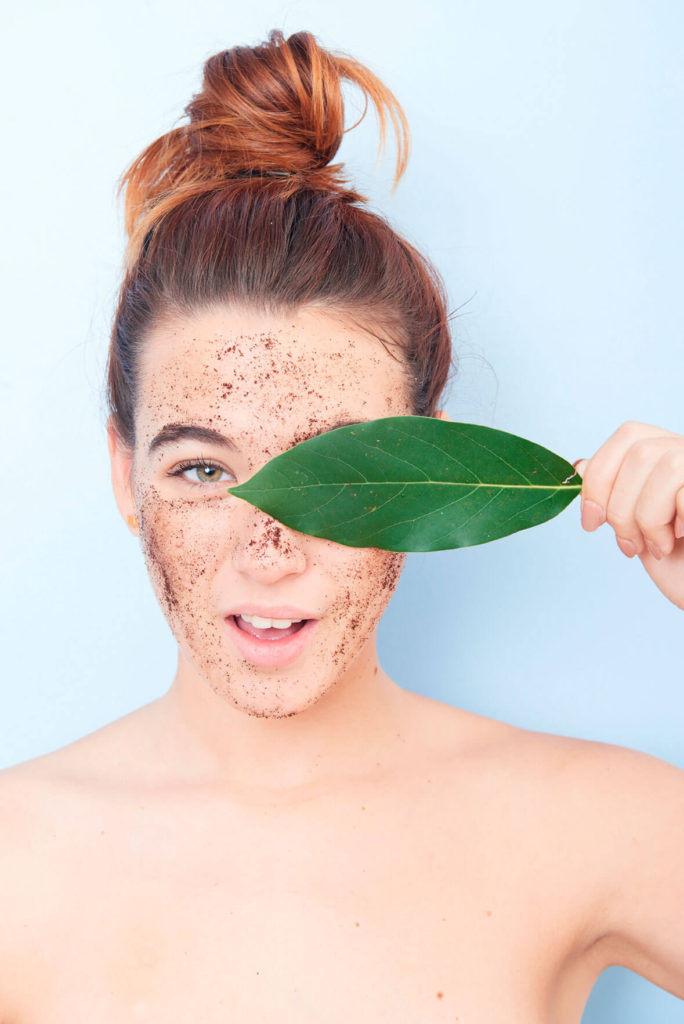 como hacer una buena exfoliacion facial alice in beautyland blog cleanseme scrub mask leaf
