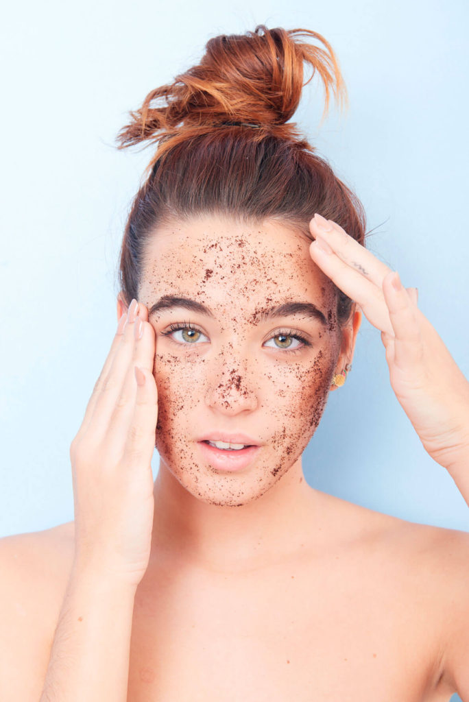 como hacer una buena exfoliacion facial alice in beautyland blog cleanseme scrub mask massage