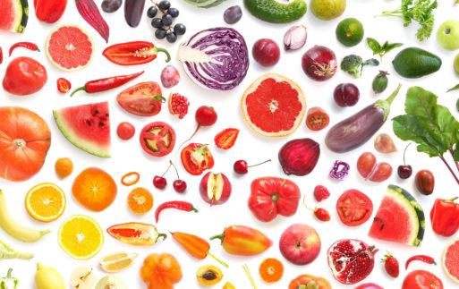 Pon color a tu dieta y ganarás en salud