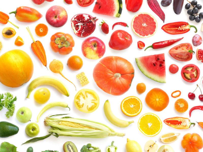 Pon color a tu dieta y ganaras en salud Alice in Beautyland Blog Frutas y verduras