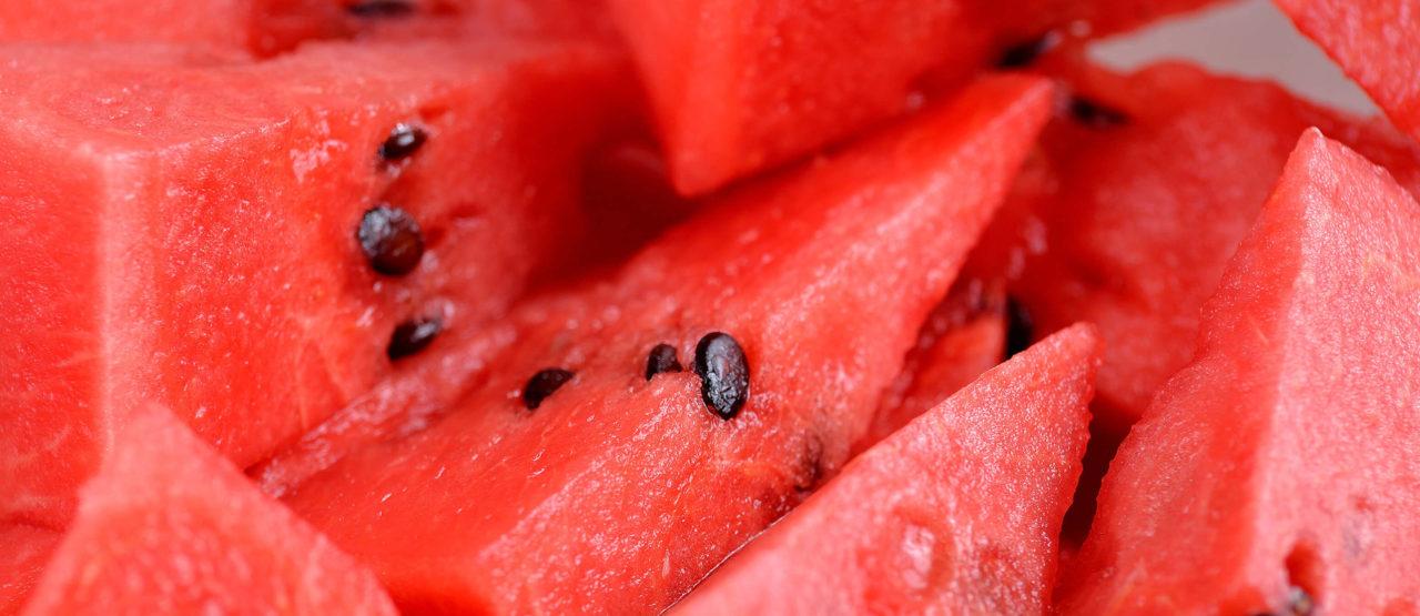 Pon color a tu dieta y ganaras en salud Alice in Beautyland Blog Sandia roja