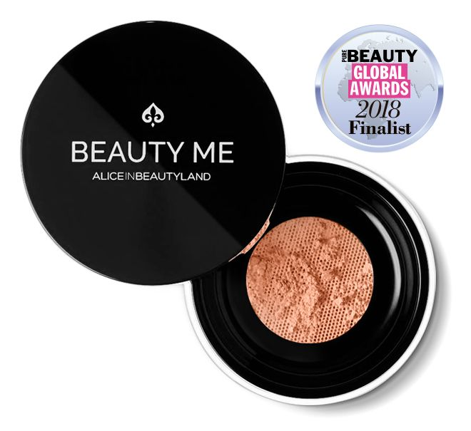 Opened Beauty me makeup mineral foundation