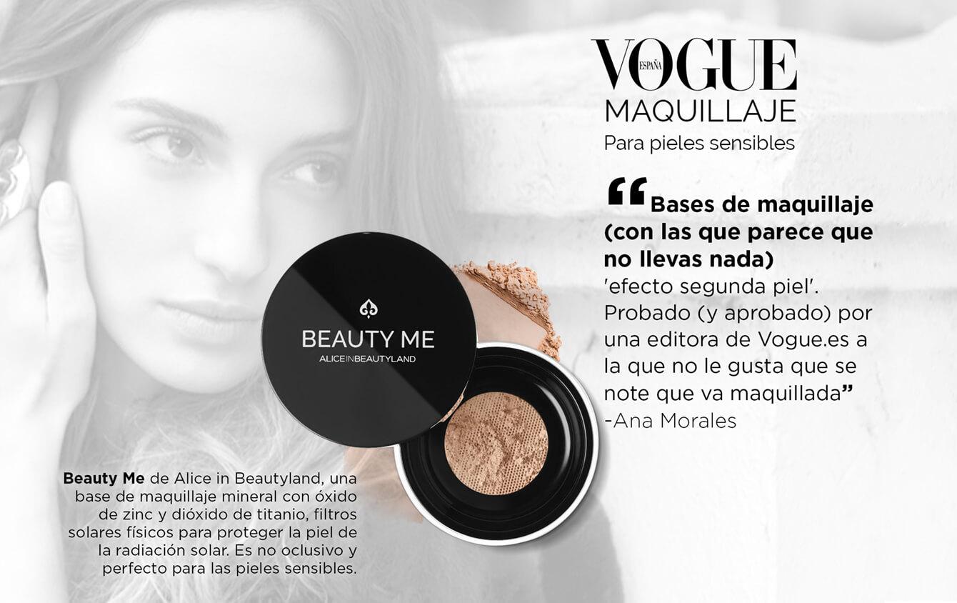Vogue Maquillaje para pieles sensibles: Base de maquillaje (con las que parece que no lleves nada) 'efecto segunda piel'. Probando (y aprobado) por una editora de Vogue.es a la que no le gusta que se note que va maquillada. Ana Morales